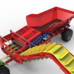 Tong's new Cleaner Loader trailer makes in-field handling loads more efficient!