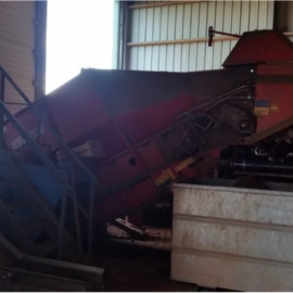 Used Grimme Hopper Cleaner RH2460