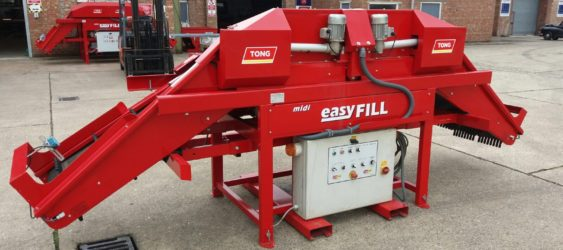 Used Tong EasyFill Box Filler