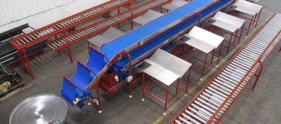 TRIPLE-DECK CONVEYORS