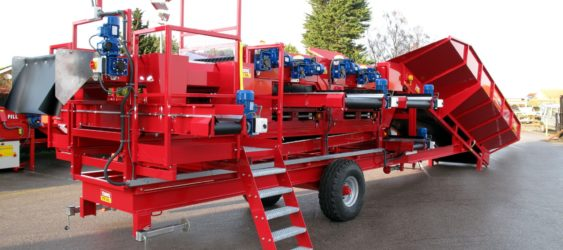 Bulker Mobile Vegetable Grader