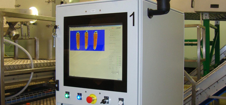 Tong Visar Optical Sorting Carrot Potato Sorter (8)