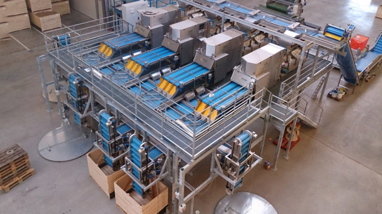 Visar Potato Optical Sorting & Grading Line