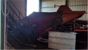 Grimme hopper potato grader mobile grading (2)