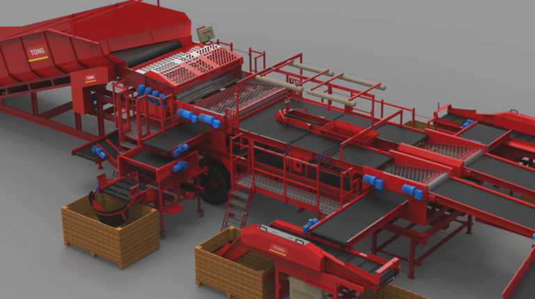 Innovative Design - Vegetable Handling | Tong Engineering
