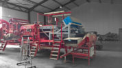 Optical sorting dirty potatoes with Tong Caretaker grader