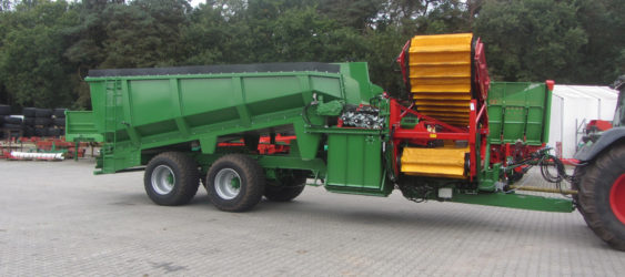 Crop Transfer Trailer