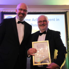 Charles Tong wins Lifetime Achievement in Business Award