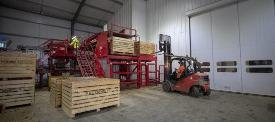 Reduced Forklift Travel
